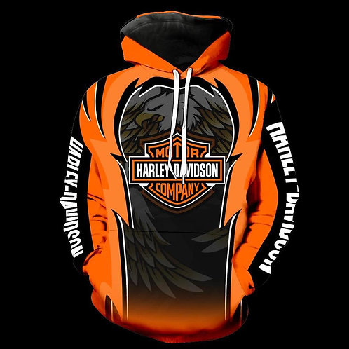 OFFICIAL-HARLEY-DAVIDSON-MOTORCYCLE-BIKER-PULLOVER-HOODIES/CUSTOM-3D-GRAPHICS!!