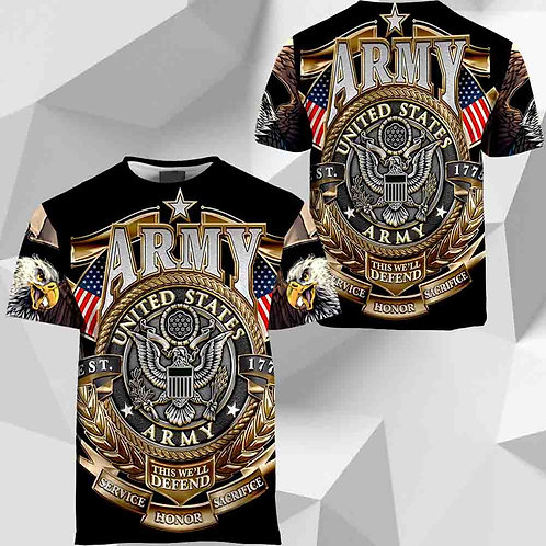 OFFICIAL-U.S.ARMY-MILITARY-TEES/CUSTOM-OFFICIAL-ARMY-LOGOS/THIS-WE'LL-DEFEND!