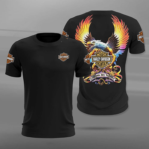 OFFICIAL-HARLEY-DAVIDSON-SHORT-SLEEVE-TEE/3D-CUSTOM-GRAPHIC-PRINTED-HARLEY-LOGOS