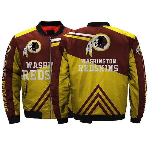 OFFICIAL-N.F.L.WASHINGTON-REDSKINS-CUSTOM-JACKETS/CUSTOM-3D-GRAPHIC-PRINT-DESIGN