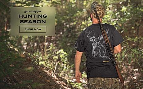 offficial hunting apparel/tees,hats & hoodies apparel...