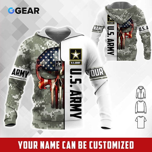 OFFICIAL-U.S.ARMY-PULLOVER-HOODIE/NEW-CUSTOMIZE-WITH-YOUR-NAME-OR-MILITARY-UNIT!