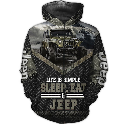 OFFICIAL-NEW-JEEP-ZIPPERED-HOODIE/3D-CUSTOM-GRAPHIC-PRINTED-DOUBLE-SIDED-DESIGN!