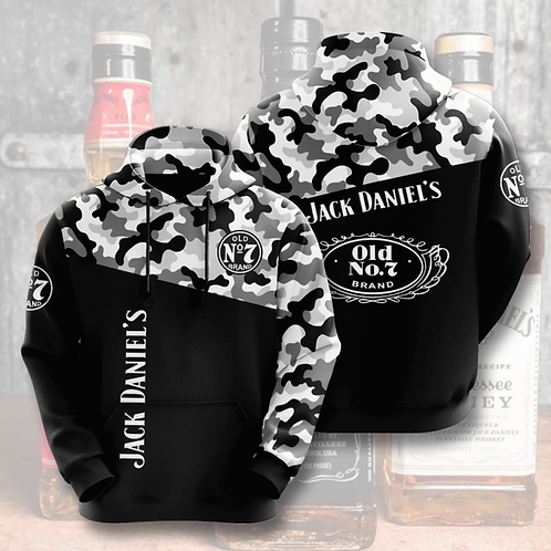 OFFICIAL-JACK-DANIELS-CAMO.PULLOVER-HOODIES/NEW-CUSTOM-3D-DESIGN-OLD-NO.7-BRAND!