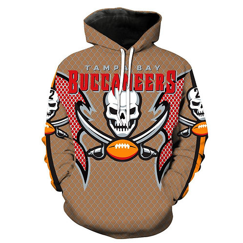 OFFICIAL-N.F.L.TAMPA-BAY-BUCCANEERS/NEW-3D-CUSTOM-PRINTED-TEAM-PULLOVER-HOODIES.
