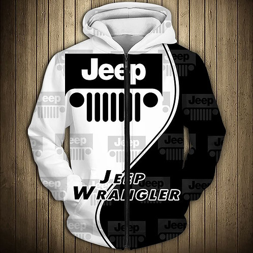 OFFICIAL-NEW-JEEP-ZIPPERED-HOODIES/NICE-CUSTOM-3D-OFFICIAL-JEEP-LOGOS & COLORS!!