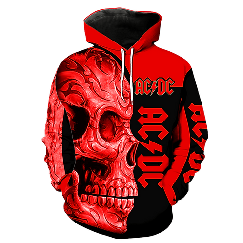 OFFICIAL-AC/DC CLASSIC-ROCK-BAND-PULLOVER-HOODIES/NEW-CUSTOM-3D-PRINTED-DESIGN!!