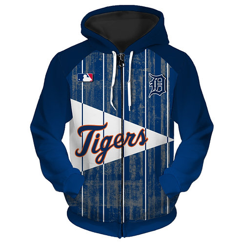 *OFFICIAL-M.L.B.DETRIOT-TIGERS-TEAM-ZIPPERED-HOODIES/3D-CUSTOM-GRAPHIC-PRINTED*