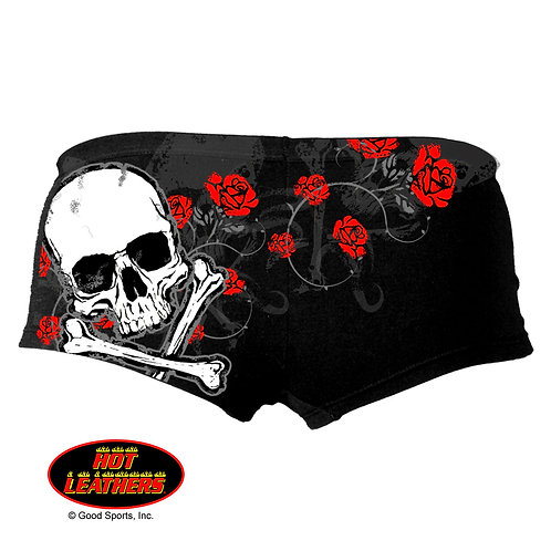 OFFICIAL-WOMENS-BIKER-SEXY-SWEAT-SHORTS/TRENDY-3D-CUSTOM-GRAPHIC-BACK-SIDE-PRINT