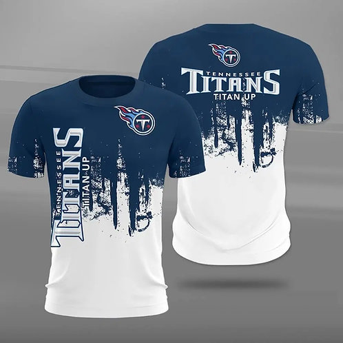 OFFICIAL-N.F.L.TENNESSEE-TITANS-TRENDY-TEAM-TEES/CUSTOM-3D-GRAPHIC-PRINTED-LOGOS