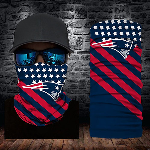 OFFICIAL-NEW-ENGLAND-PATRIOTS-FACE & GAITER-NECK-SCARFS/MULTI-USE-SPORT-MASK!!!!