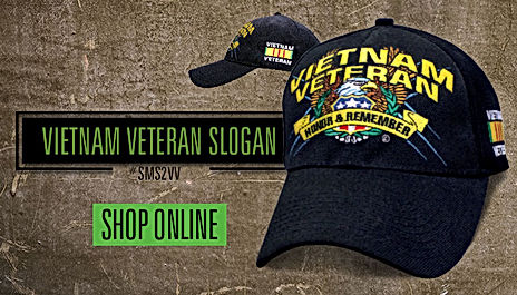 official military veterans hats & caps...