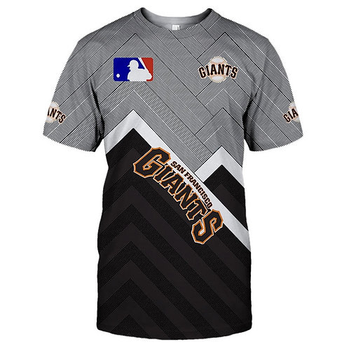 OFFICIAL-M.L.B.SAN-FRANCISCO-GIANTS-TEAM-TEES/NEW-CUSTOM-3D-EFFECT-PRINTED-TEES!