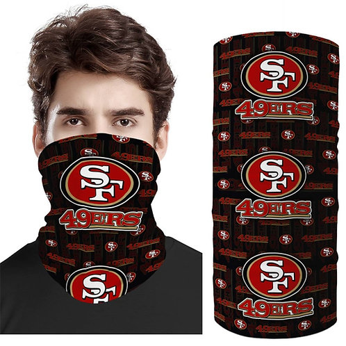 OFFICIAL-N.F.L.SAN-FRANCISCO-49ERS-FACE & GAITER-NECK-SCARF/MULTI-USE-SPORT-MASK