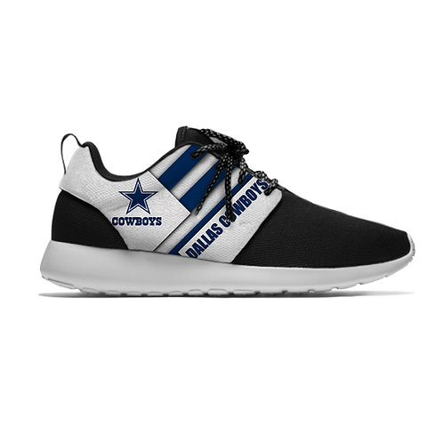 OFFICIAL-N.F.L.DALLAS-COWBOYS-TEAM/LIGHT-WEIGHT-CUSHIONED-SPORT-RUNNING-SHOES!!