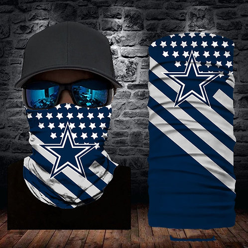 OFFICIAL-N.F.L.DALLAS-COWBOYS-FACE & GAITER-NECK-SCARFS/NEW-MULTI-USE-SPORT-MASK