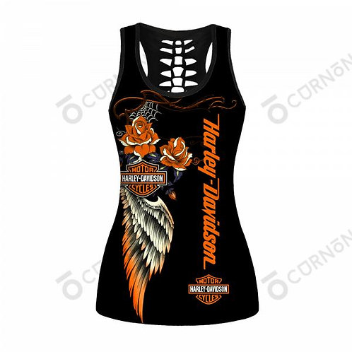 OFFICIAL-HARLEY-DAVIDSON-MOTORCYCLE-BIKER-WOMENS-SUMMER-TANK-TOP/HARLEY-3D-ROSES