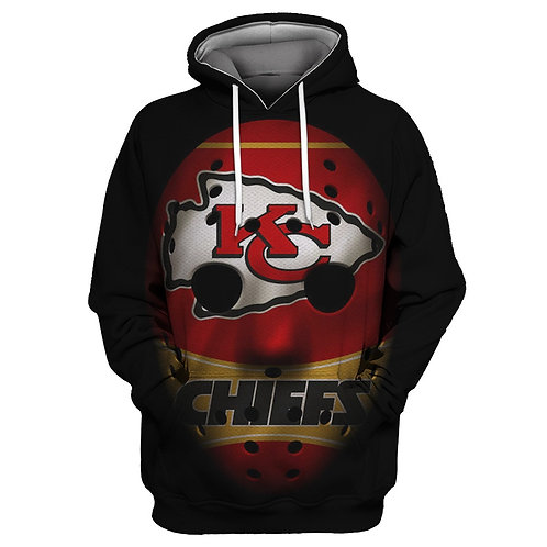 OFFICIAL-N.F.L.KANSAS-CITY-CHIEFS-PULLOVER-TEAM-HOODIE/CHIEFS-MASKED-HEAD-DESIGN