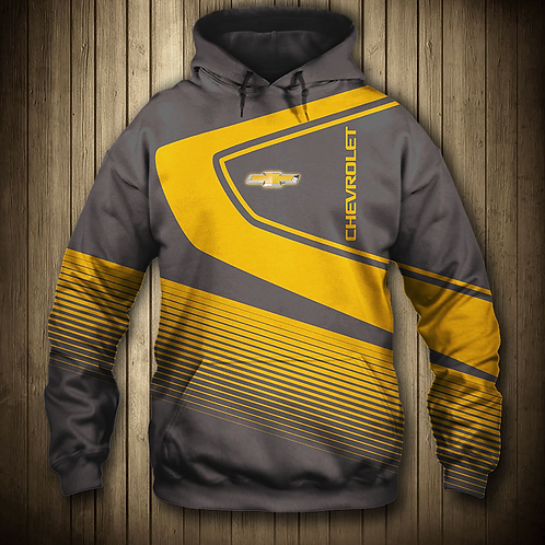 *OFFICIAL-CHEVY-PULLOVER-HOODIES/CUSTOM-3D-GRAPHIC-PRINTED-DOUBLE-SIDED-HOODIES*