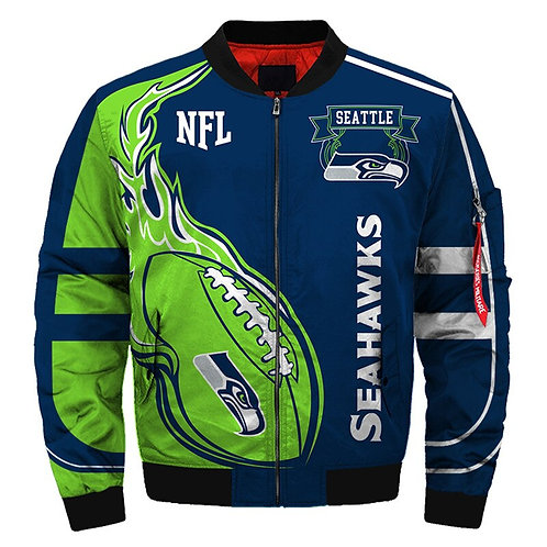 OFFICIAL-N.F.L.SEATTLE-SEAHAWKS-JACKETS/WARM-PREMIUM-CUSTOM-3D-GRAPHIC-DESIGN!!