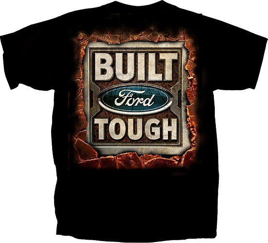 OFFICIAL-FORD-TEES/CLASSIC-BUILT-FORD-TOUGH-OFFICIAL-LOGO/3D-CUSTOM-PRINTED-TEES