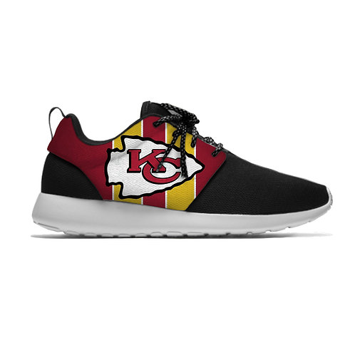 NEW-OFFICIAL-N.F.L.KANSAS-CITY-CHIEFS-LIGHT-WEIGHT/CUSHIONED-SPORT-RUNNING-SHOES