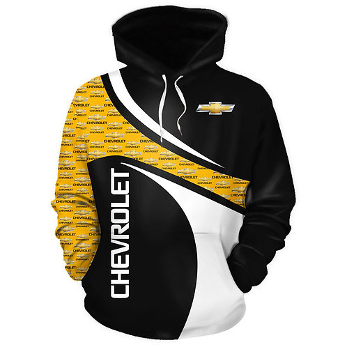 OFFICIAL-CHEVY-PULLOVER-HOODIES/CUSTOM-PRINTED-3D-OFFICIAL-CHEVY-GRAPHIC-LOGOS!!
