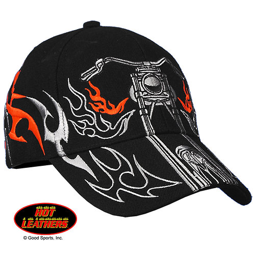 OFFICIAL-TRIBAL-BIKERS-HAT/RED & SILVER-TRIBAL-GRAPHICS/CLASSIC-BIKER-RIDE-LOOK.