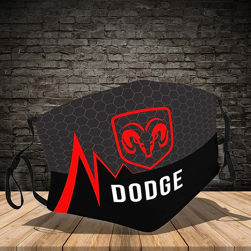OFFICIAL-DODGE-RAM-LOGOS-PROTECTIVE-FACE-MASK/NEW-CUSTOM-3D-PRINTED DESIGNED!!