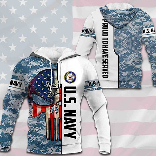 OFFICIAL-U.S.NAVY-CAMO.PULLOVER-HOODIES/CUSTOM-3D-GRAPHIC-PRINTED-PUNISHER-SKULL