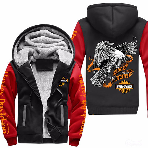OFFICIAL-HARLEY-3D-GRAPHIC-PRINTED-PULLOVER-HOODIES/LIVE-TO-RIDE & RIDE-TO-LIVE!