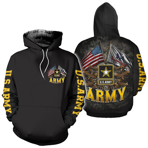 OFFICIAL-U.S.ARMY-PULLOVER-HOODIES/CUSTOM-OFFICIAL-ARMY-LOGOS/THIS-WE'LL-DEFEND!