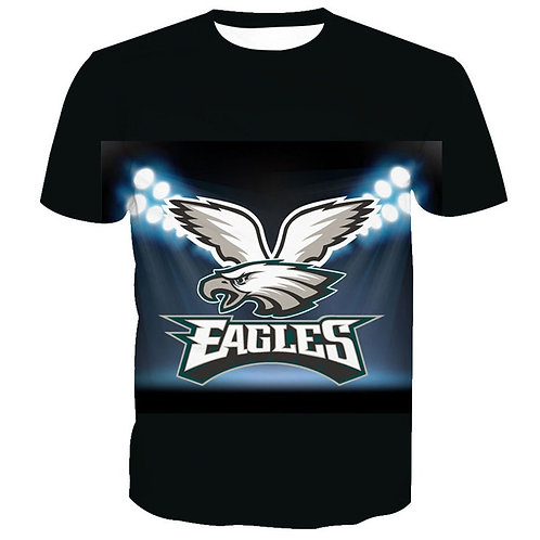 OFFICIAL-N.F.L.PHILADELPHIA-EAGLES/3D-CUSTOM-GRAPHIC-PRINTED-TEAM/GAME-DAY-TEES!