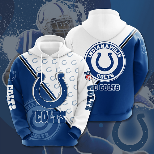 OFFICIAL-N.F.L.INDIANAPOLIS-COLTS-TEAM-PULLOVER-HOODIES/CUSTOM-3D-PRINTED-DESIGN