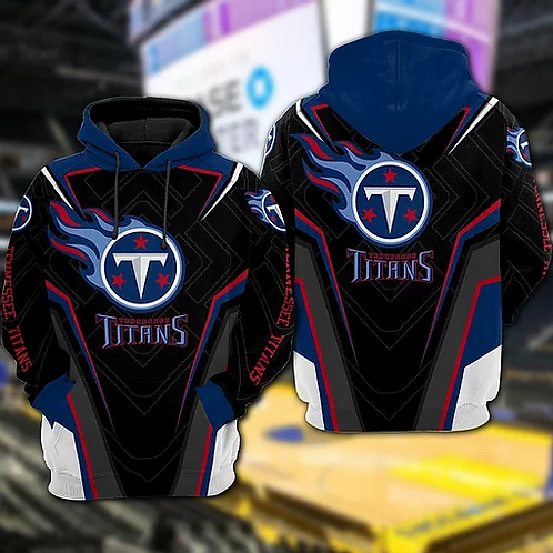 OFFICIAL-N.F.L.TENNESSEE-TITANS-TEAM-PULLOVER-HOODIES/CUSTOM-3D-TITANS-DESIGNED!