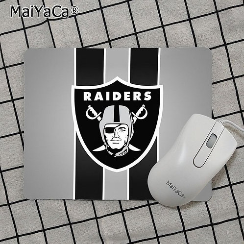 OFFICIAL-N.F.L.OAKLAND-RAIDERS-TEAM-MOUSE-PAD/NEW-CUSTOM-3D-RAIDERS-LOGO-DESIGN!
