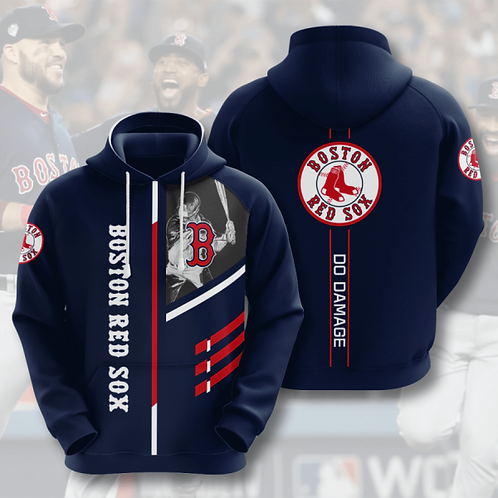 OFFICIAL-M.L.B.BOSTON-RED-SOXS-PULLOVER-HOODIES/CUSTOM-3D-GRAPHIC-PRINTED-DESIGN