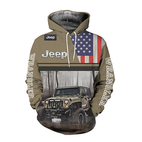 OFFICIAL-JEEP-PREMIUM-PULLOVER-HOODIES/CUSTOM-3D-GRAPHIC-PRINTED-JEEP-WRANGLER!!