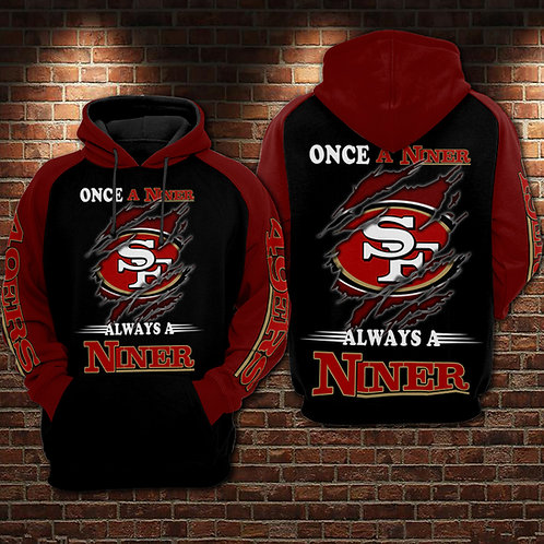 OFFICIAL-N.F.L.SAN-FRANCISCO-49ERS-PULLOVER-HOODIE/NICE-CUSTOM-3D-GRAPHIC-DESIGN