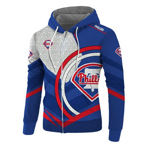 OFFICIAL-M.L.B.PHILADELPHIA-PHILLIES/NEW-3D-CUSTOM-PRINTED-TEAM-ZIPPERED-HOODIES
