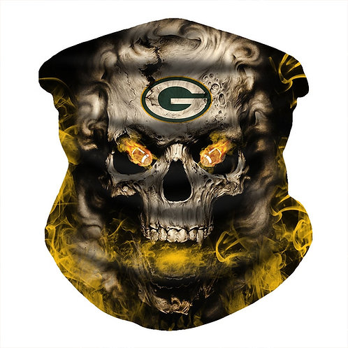 OFFICIAL-N.F.L.GREEN-BAY-PACKERS-FACE & GAITER-NECK-SCARFS/MULTI-USE-SPORT-MASK!