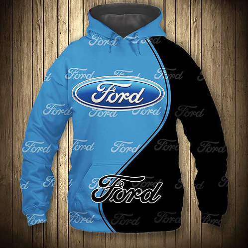 *OFFICIAL-NEW-FORD-PULLOVER-HOODIES/NICE-CUSTOM-3D-OFFICIAL-FORD-GRAPHIC-LOGOS!*