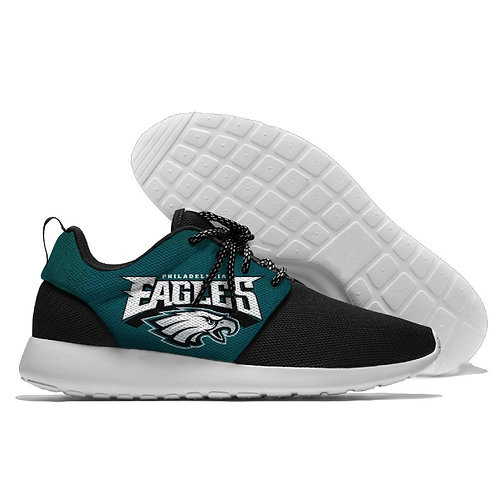 *OFFICIAL-N.F.L.PHILADELPHIA-EAGLES-LIGHT-WEIGHT/CUSHIONED-SPORT-RUNNING-SHOES*