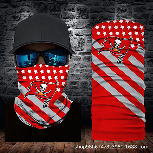 OFFICIAL-N.F.L.TAMPA-BAY-BUCCANEERS-FACE & GAITER-SCARFS/MULTI-USE-SPORT-MASK!!