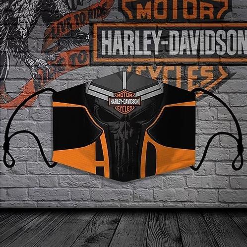 OFFICIAL-HARLEY-DAVIDSON-BIKER-PROTECTIVE-FACE-MASK/CUSTOM-3D-PUNISHER-SKULL!!!