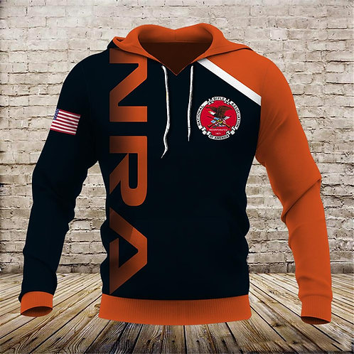 OFFICIAL-N.R.A.PULLOVER-HOODIES/CUSTOM-3D-DOUBLE-SIDED-GRAPHIC-PRINTED-DESIGN!!