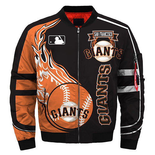 OFFICIAL-M.L.B.SAN-FRANCISCO-GIANTS-TEAM-JACKETS/NEW-CUSTOM-DETAILED-3D-GRAPHICS
