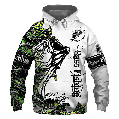 OFFICIAL-BASS-SPORT-FISHING-PULLOVER-HOODIES/CUSTOM-3D-PRINTED-THE-FISH-REAPER!!