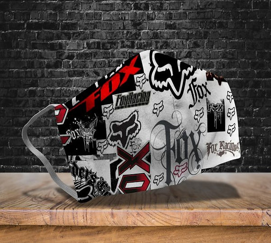 OFFICIAL-FOX-RACING-LOGOS-PROTECTIVE-FACE-MASK/NEW-CUSTOM-3D-PRINTED DESIGNED!!