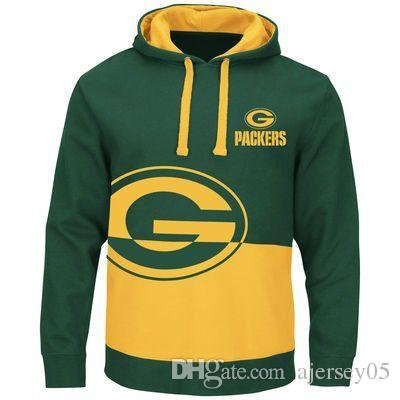 **(OFFICIALLY-LICENSED-N.F.L.GREEN-BAY-PACKERS-NEW-PREMIUM-PULLOVER-HOODIES)**